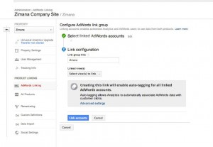 Google Analytics Remarketing - Linking Adwords